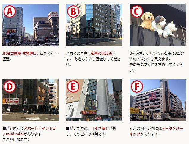 名古屋医院 アクセス方法